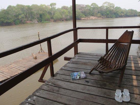 Pantanal: Riverside balcony