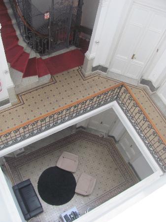 Hotel Plaza Fuerte: Pasillos