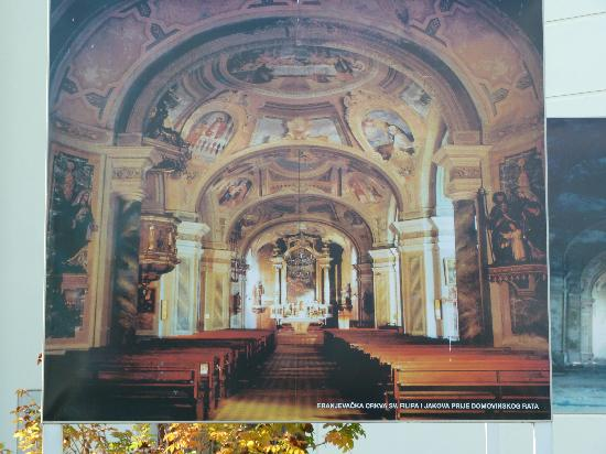 Vukovar, Kroatia: Picture of the Church BEFORE the war.