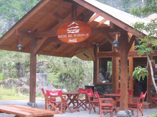 Parque Nacional Vicente Perez Rosales, Chile: cafeteria