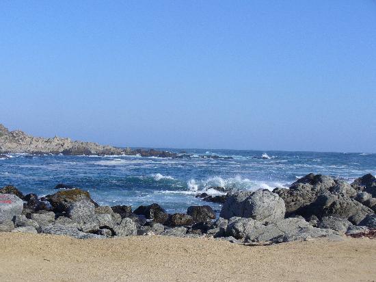 บ้านพาโบลเนรูดา: Playa de Isla Negra, frente a la casa Neruda