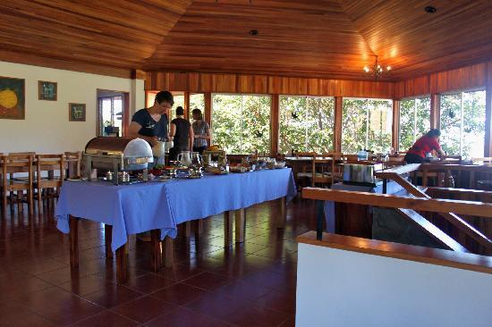 Arco Iris Lodge : Lovely Breakfast Dining Room