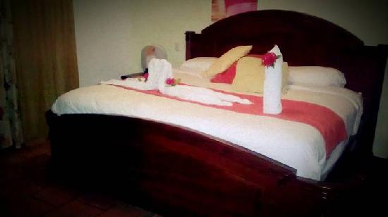 Hotel Villas Playa Samara: Every Day Bed is made beautifully!  And the room is cleaned Daily...