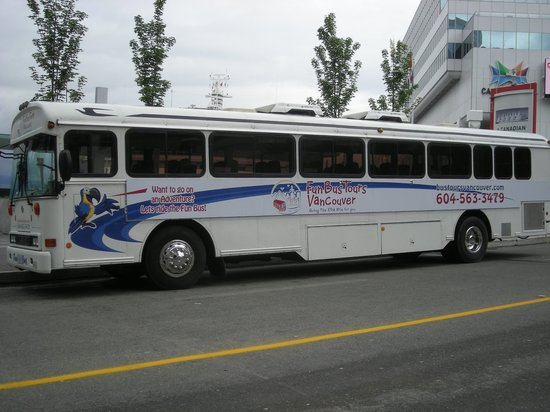 Fun Bus Tours Vancouver: Come ride the Fun Bus!