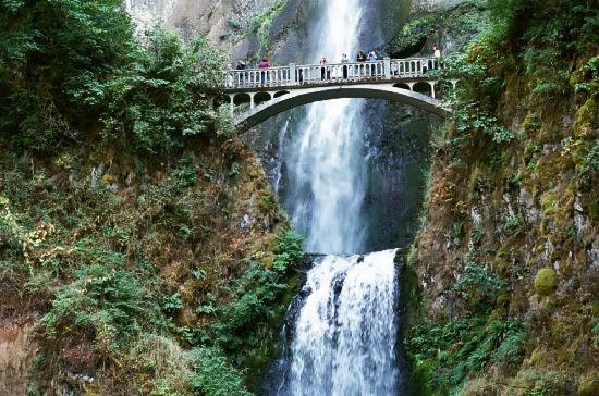 Hood River, Όρεγκον: Multnomah Falls,BEAUTIFUL!!