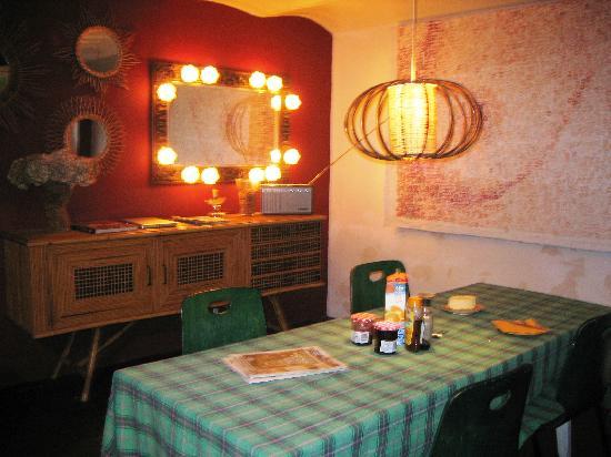 La Moma: The dining room