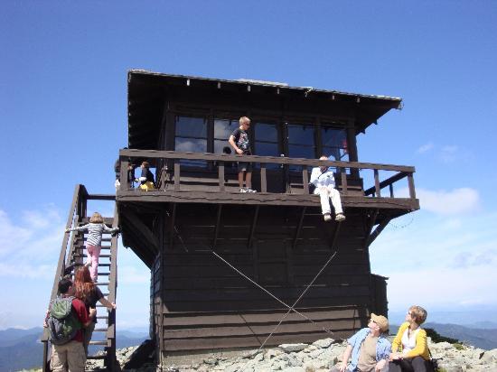 Alta Crystal Resort at Mount Rainier: Mt. Fremont lookout at Mt. Rainier