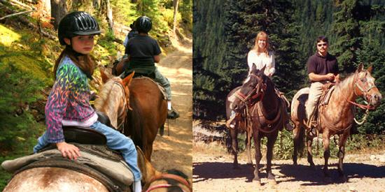 Alta Crystal Resort at Mount Rainier: In the summer, ride horses or rent a bike.