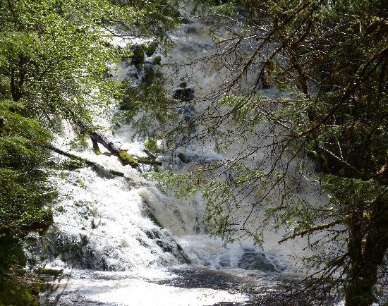 Diana Lake Provincial Park: Diana Falls