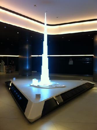 สวีท โนโวเทล มอลล์ ออฟ เดอะ เอมิเรตส์: Building model inside the building.