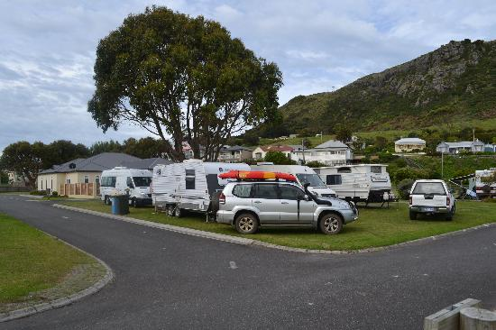 Stanley Cabin and Tourist Park : Campervan Pitch