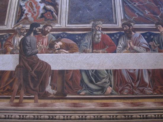 Cenacolo di Sant'Apollonia: Saint Jean endormi