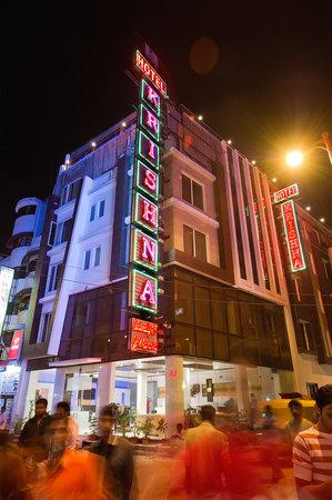 Hotel Krishna: Main building