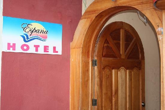 ホテル エスパーニャ, 玄関