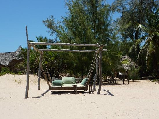 Che Shale: Perfect place to lounge on the beach