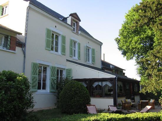 Villa Marjane : coté jardin