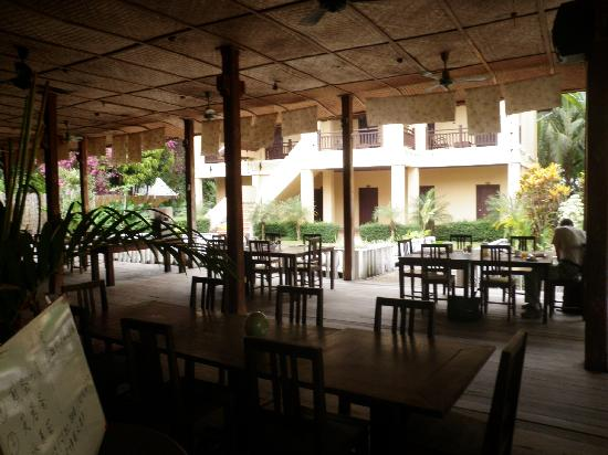 Villa Ban Lao Hotel: Restaurantbereich