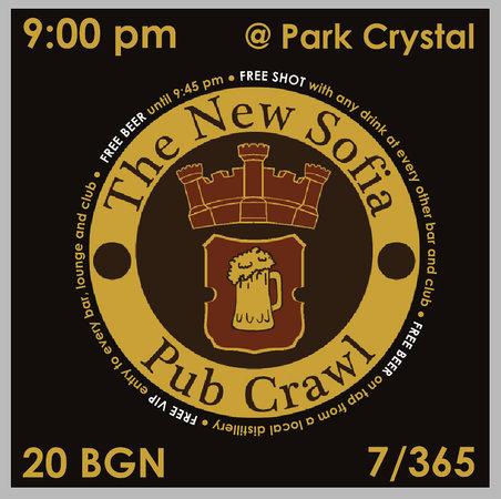 The New Sofia Pub Crawl : logo