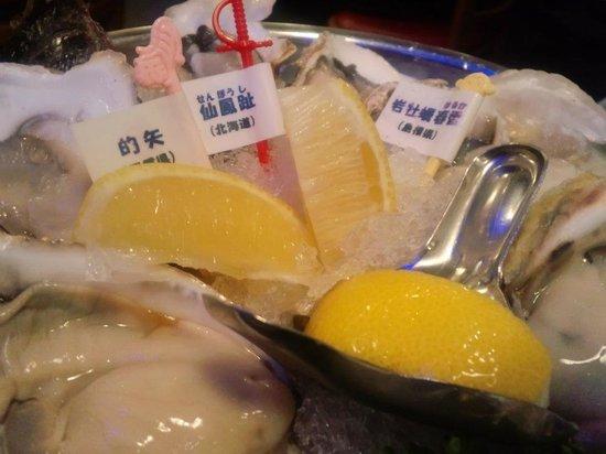 Oysterbar Jack Pot Kokusai Bldg: 牡蠣牡蠣牡蠣