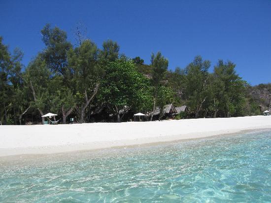 Nosy Mitsio, Madagascar: plage sud 3