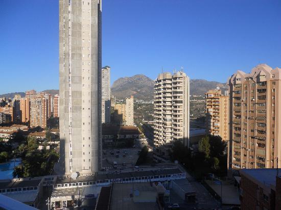 MedPlaya Hotel Regente: view from our room 9th floor