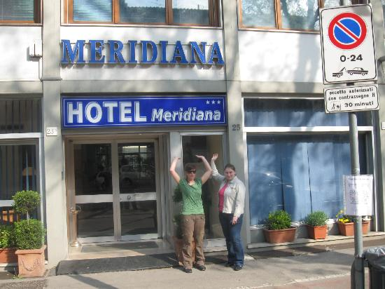 ‪‪Hotel Meridiana‬: front of the hotel‬