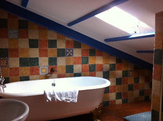 Hospederia La Tercia: Baño Mirador de Dulcinea