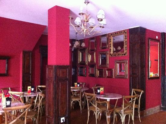 Hospederia La Tercia: Cafetería