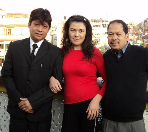 Hotel Lai Lai: with tika and prajwol hotel manager