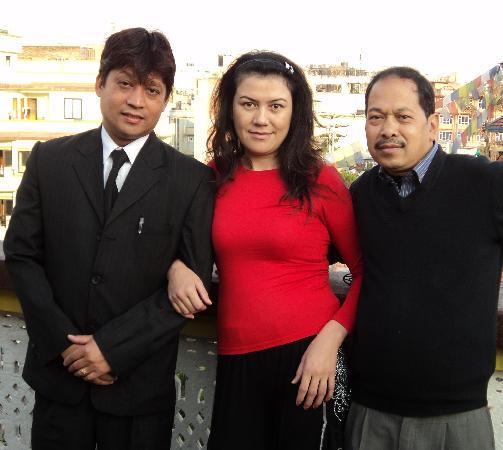 Hotel Lai Lai : with tika and prajwol hotel manager