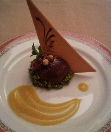 Gourmet: Chocolate dessert