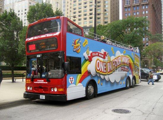 Chicago Trolley & Double Decker Co. : Hop On Hop Off Double Decker Trolley