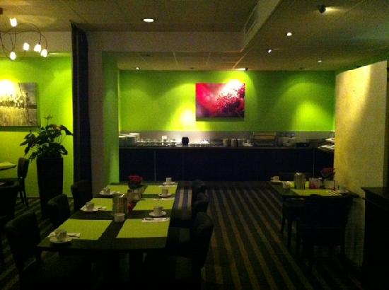 Charme Hotel : Brakfastroom/buffet