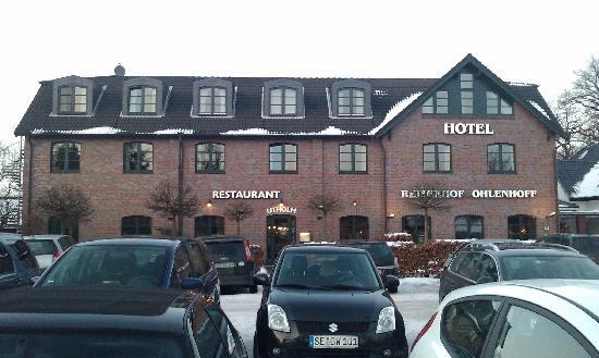 Hotel Reiterhof Ohlenhoff: Hotel entrance