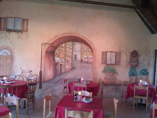 Trattoria San Francesco : Italienisches Ambiente
