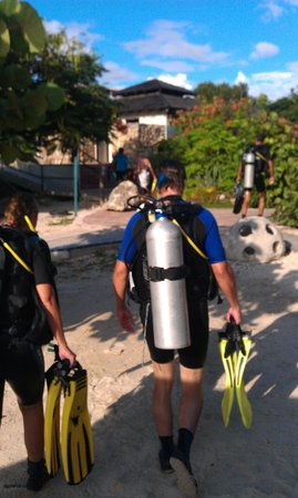 Relaxed Guided Dives: Nieuwe apparatuur