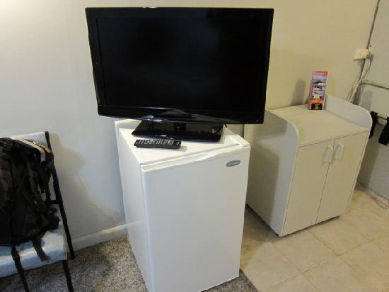 Fig Tree Motel: 液晶TVは日本製ではないがデカイ!