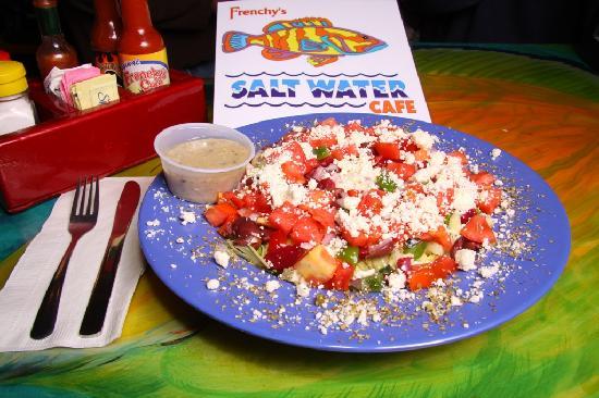 Frenchy S Saltwater Cafe Menu