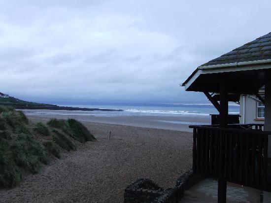Croyde, UK: View from balcony