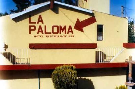 La Paloma: Fachada