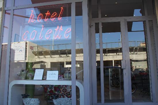 Hotel Colette: ingresso