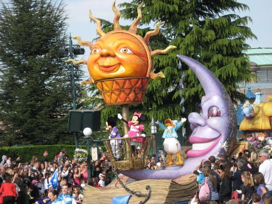 Disneyland Park: la parata