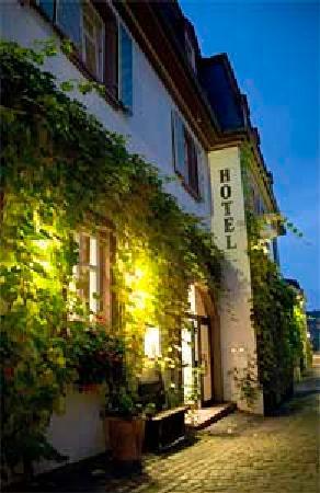 Breuer's Ruedesheimer Schloss: Hoteleingang