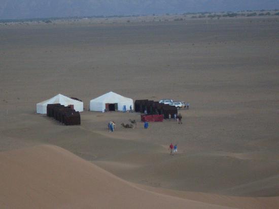 Hotel La Vallee : habitation des tourstes à Mhamid
