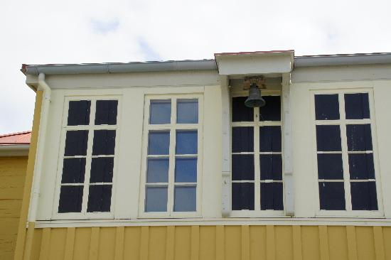 Russian Bishop's House: Windows were a sign of wealth.  Three of these are fake.