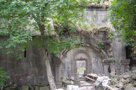 Dsegh, Armenia: Main Ruined Church at Kobayr