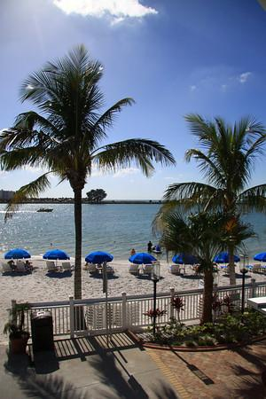 Shephard's Beach Resort: Soft white sand on a private beach