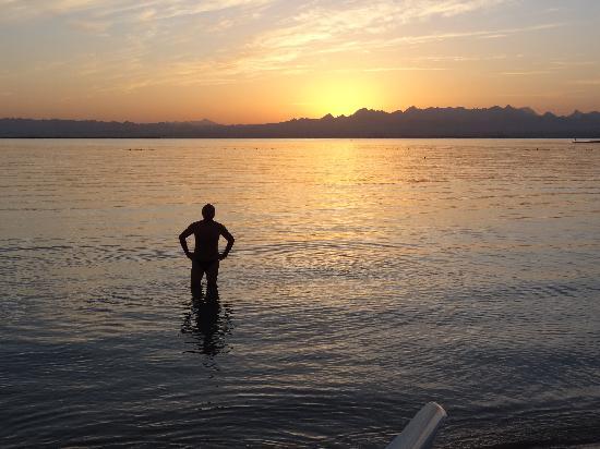 เชอราตันโซมาเบย์ รีสอร์ท: sunset