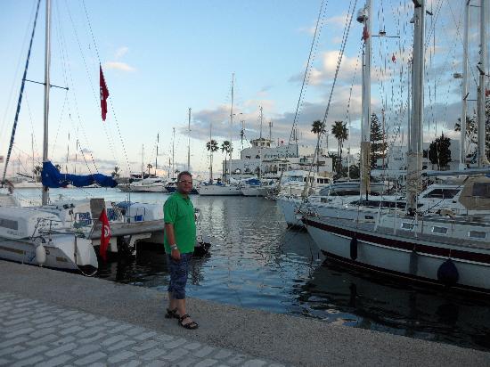 JAZ Tour Khalef Thalasso & Spa : Yachthafen von Port el Kantoui
