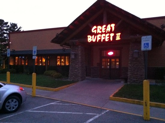 Great Buffet: Alles bestens hier am Buffet.